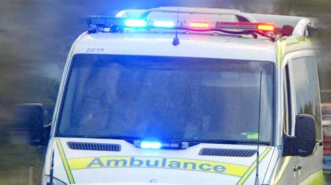 An 18-year-old male driver was flung from his vehicle during a rollover this morning near Dalby.