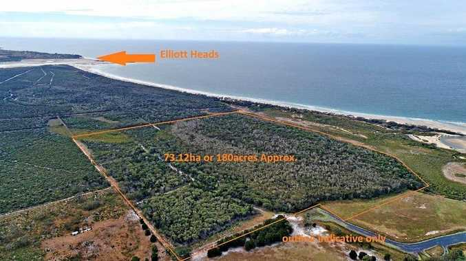 Developer's paradise: Massive 180-acre beach block listed