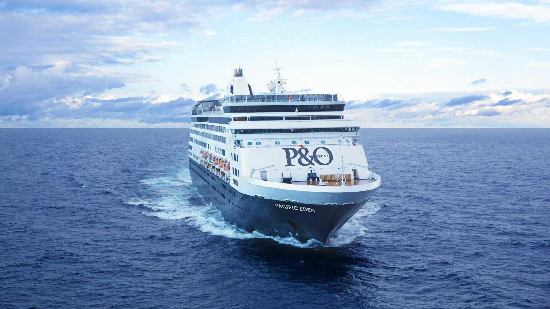 INCOMING: P&O ship the  Pacific Eden  is returning to Gladstone today.