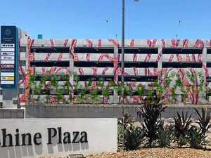 Artwork to add colour to Plaza's new carpark