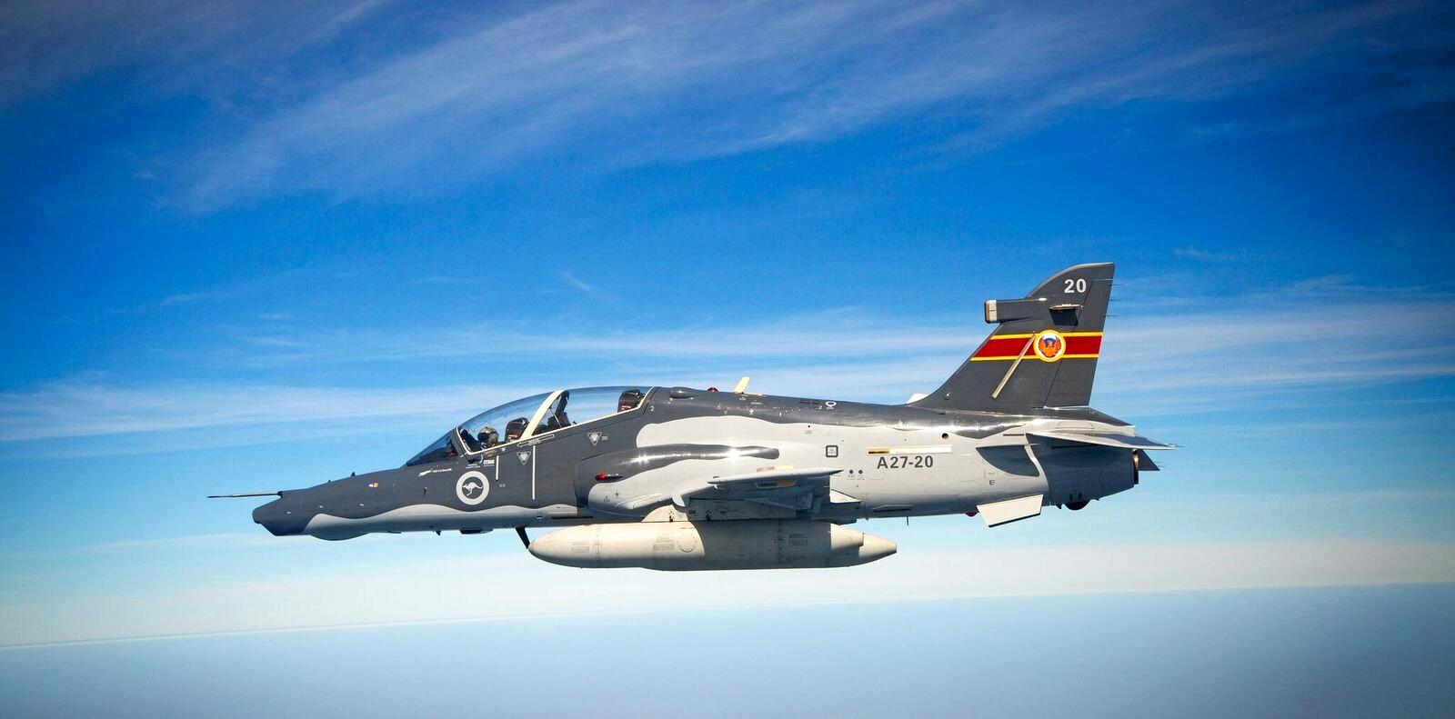 A RAAF Hawk 127 will be doing flying demonstrations at the Lismore Aviation Expo.
