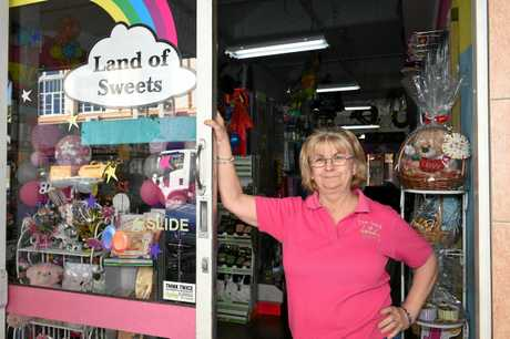 CBD REVAMP: Land of Sweets owner Lida Nielsen has welcomed the new CBD works, but says more needs to be done to make it affordable for new businesses to set up shop in the Maryborough CBD.