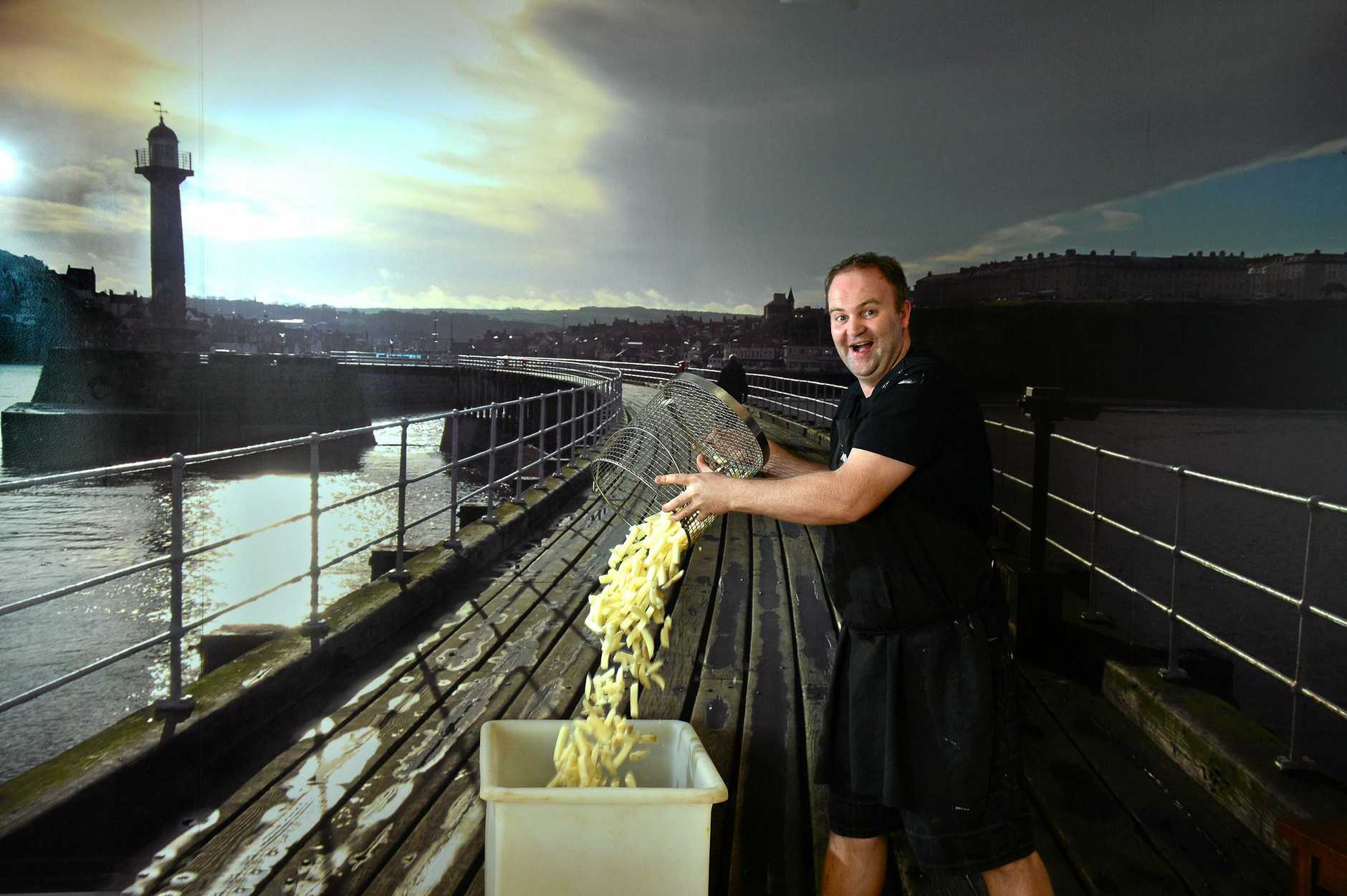 Mike Seckel of The Fryer of Whitby in Mountain Creek.