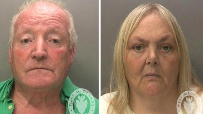 Keith and Julie Potts. Picture: West Midlands Police website