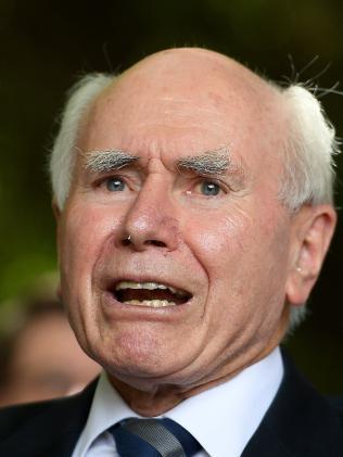 Former prime minister John Howard. Picture: Dan Himbrechts