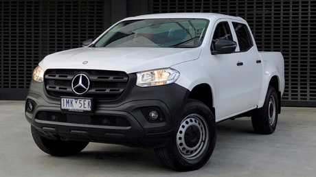 This is the cheapest ticket into a Mercedes-Benz X Class auto, the X250d Pure. Picture: Joshua Dowling.