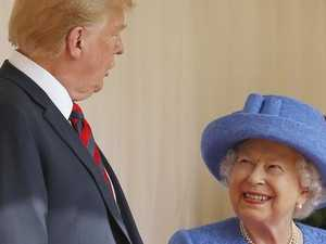 Was the Queen secretly trolling Trump?