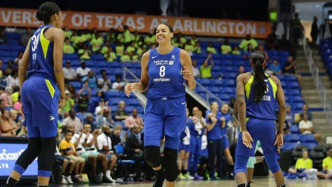 Australia's Liz Cambage has established herself as a superstar of the WNBA.