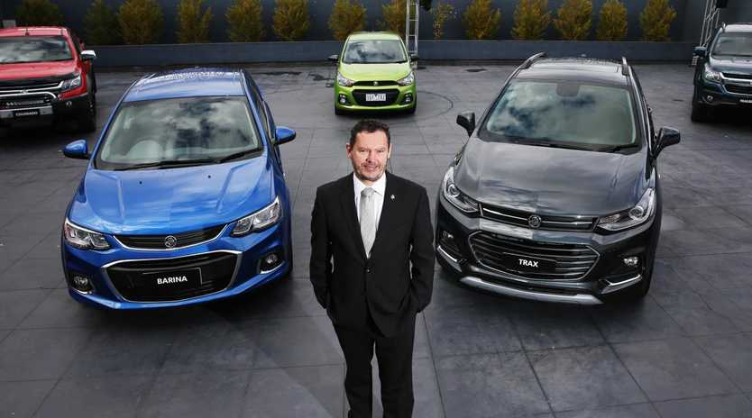 Holden boss Mark Bernhard. Picture: Aaron Francis.