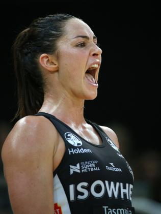 Layton has called time on her netball career