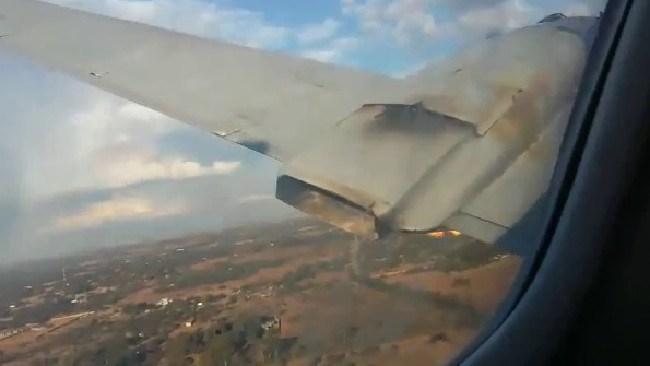 A passenger recorded the entire crash.