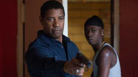 Robert McCall (played by DENZEL WASHINGTON) insists that Miles (ASHTON SANDERS) leave with him in a scene from Columbia Pictures' film THE EQUALIZER 2.
