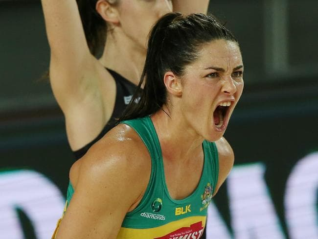 Sharni Layton has called time on her career. Picture : George Salpigtidis