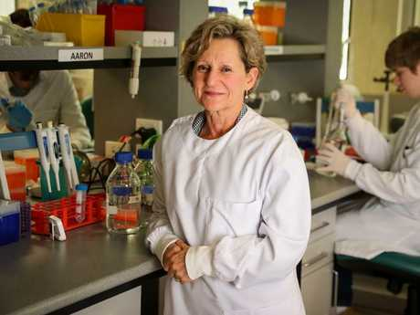 Professor Mel Ziman, head of melanoma research at Edith Cowan University. Picture: Colin Murty/The Australian