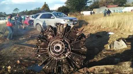 Two people were killed and the two pilots remain in critical condition.