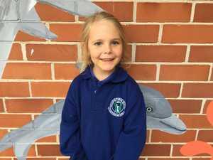 Ari Saffiana, 5, Kindergarten, Maclean Public