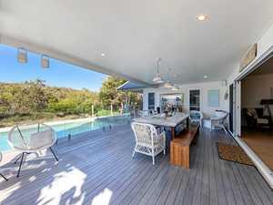 A Hampton-style beachfront stunner