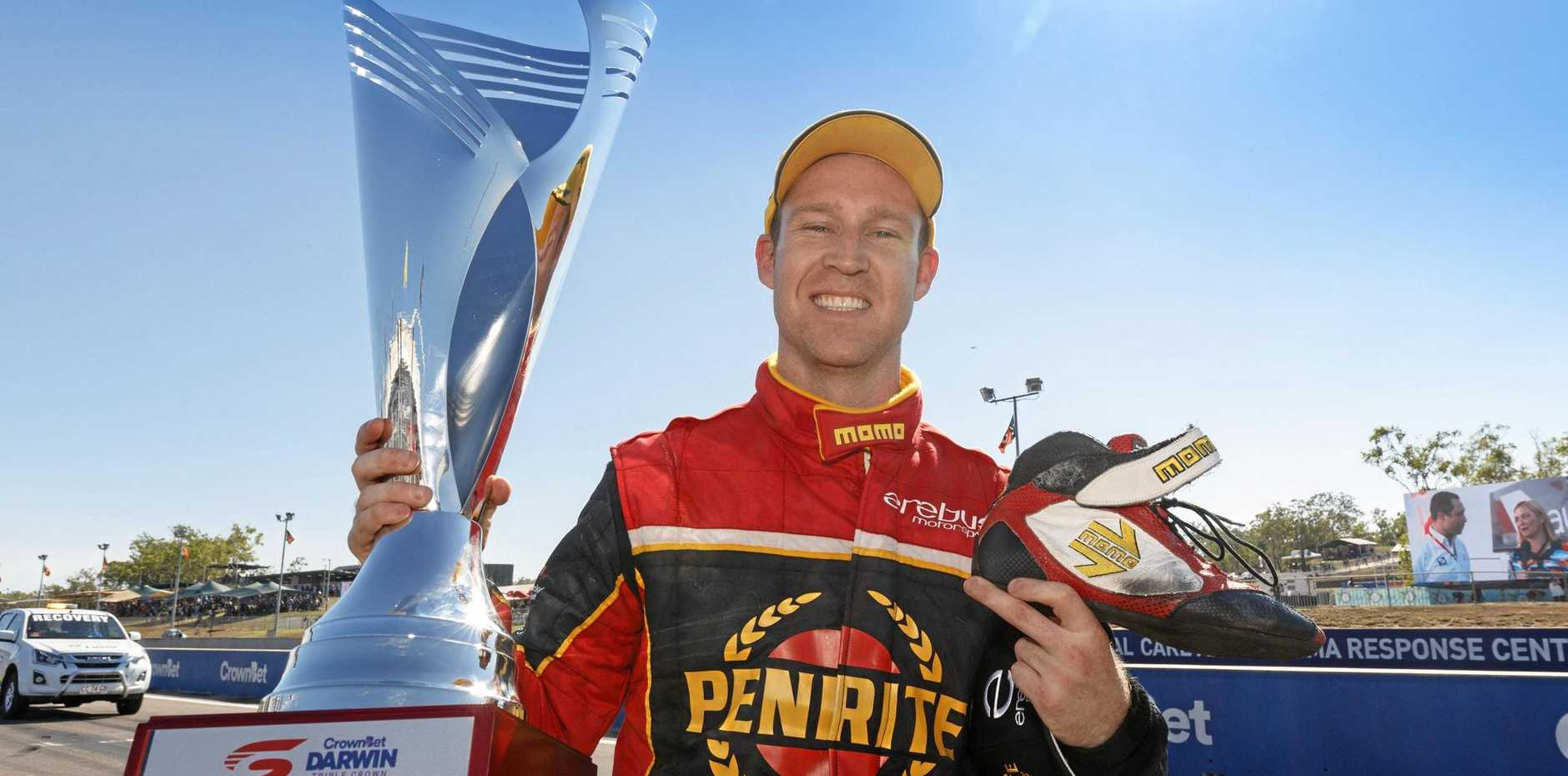 Supercars driver David Reynolds savours his victory in Darwin during his impressive season so far.