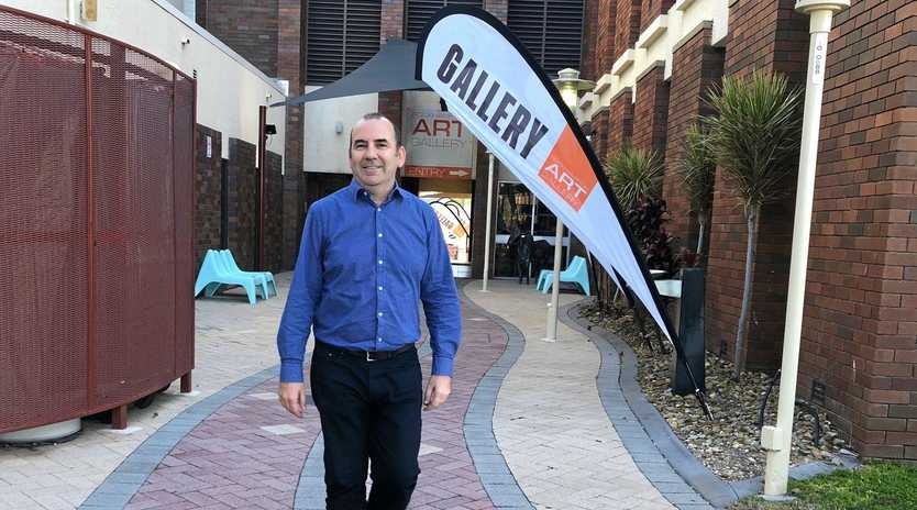 NEW CHIEF: Rockhampton Art Gallery's new curator Gordon Craig is looking forward to working with the gallery's renowned collection and the ambitious new art gallery building proposal.
