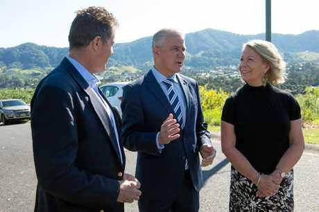 Coffs Harbour Mayor Denise Knight spent 2017-18 lobbying two Deputy Prime Ministers and a Prime Minister for funding for the Coffs Harbour Pacific Highway Bypass.
