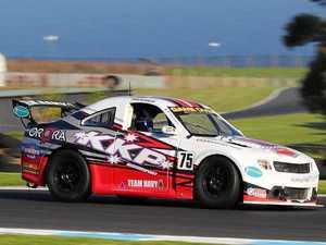 All eyes are on Kel in Aussie Racing Cars