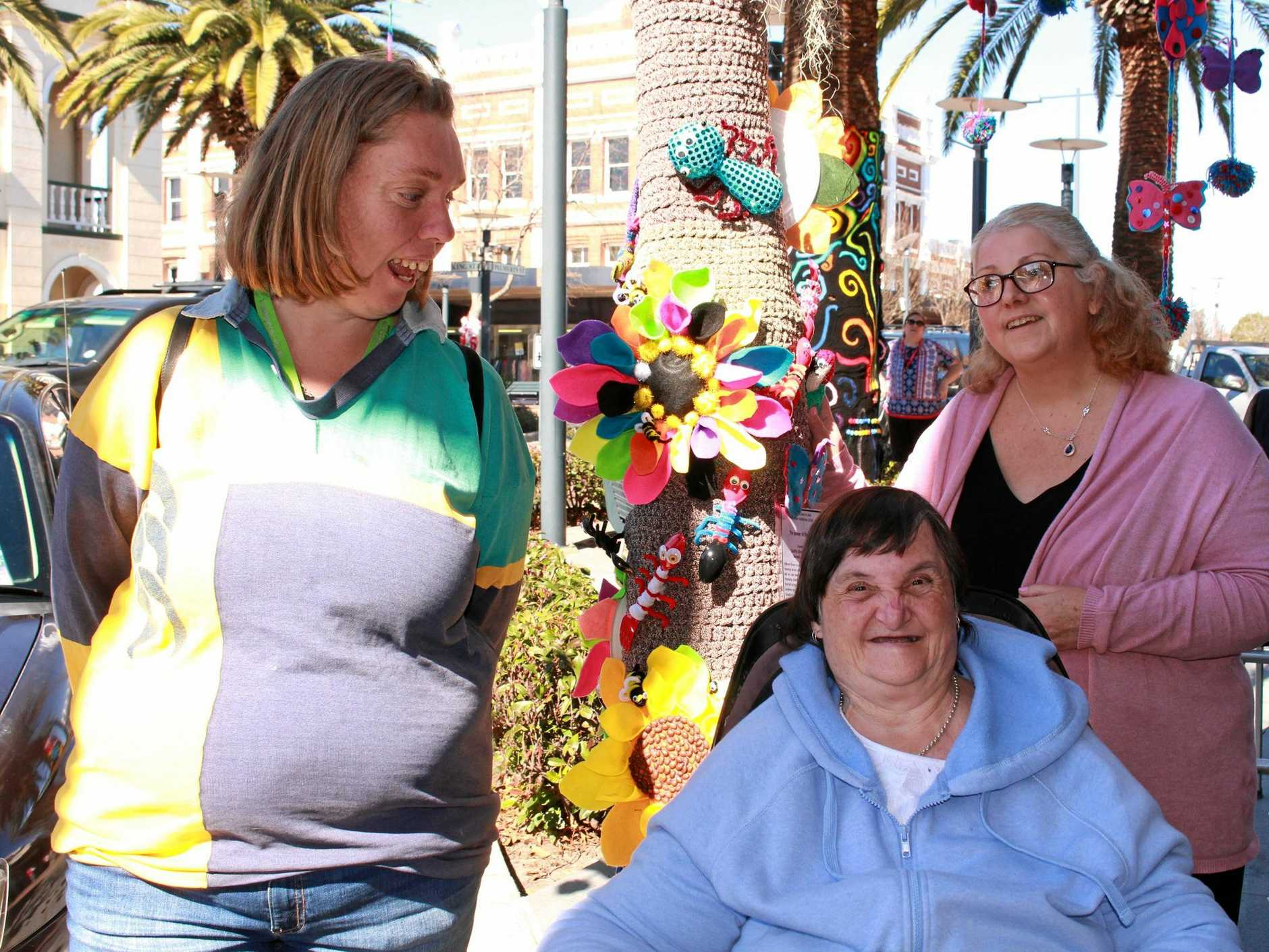 Ruth Watts, Donna Shields and Jodie Bywaters enjoyed seeing their project come to life.
