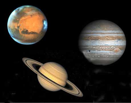 ASTRONOMY: Kingaroy Observatory has telescopes fitted with special planet filters to see detail in planets like Mars, Saturn and Jupiter.