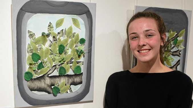 Dalby students show flair in first Gallery 107 exhibit
