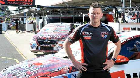 Supercar driver Garth Tander is preparing for the action at Queensland Raceway this weekend.