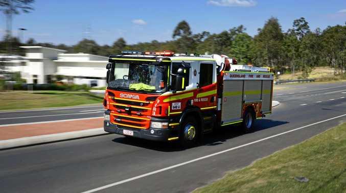 BREAKING: Fireys rush to blaze west of Gympie
