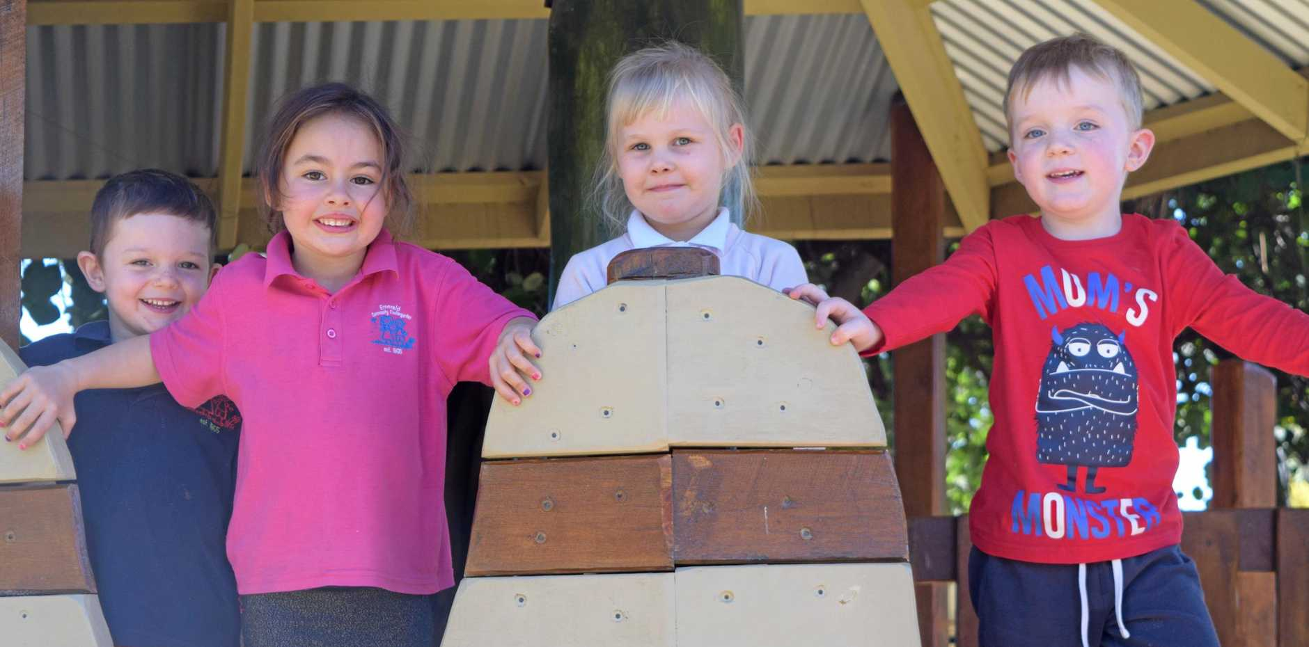 READY FOR FUN: Emerald Community Kindergarten are holding their annual Open Day and Party in the Park next weekend.