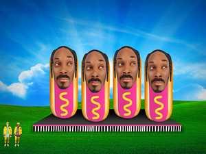 FIRST LOOK: Snoop Dogg hotdogs at Splendour