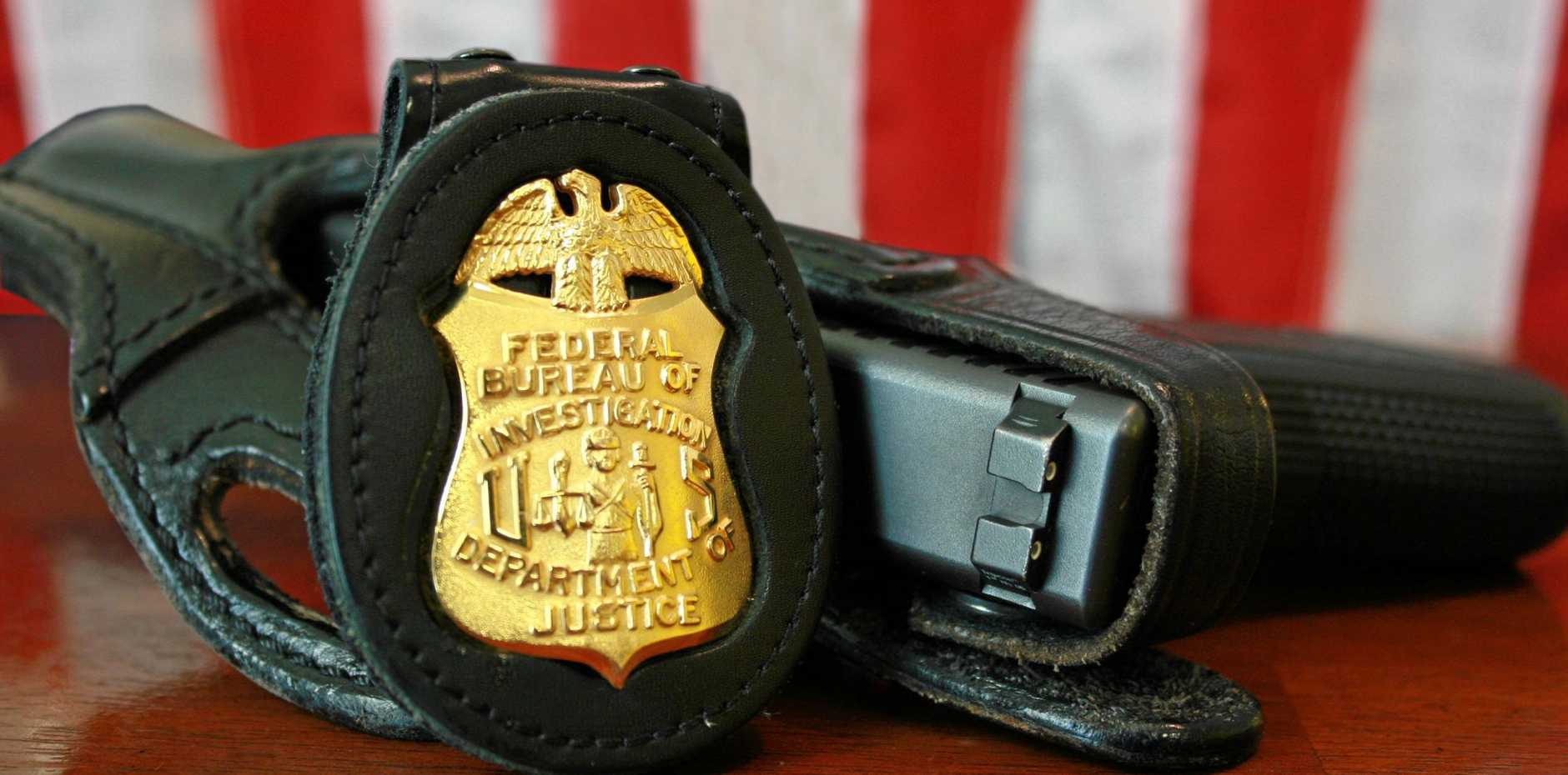 The FBI became involved when a Ballina man made threats to a US woman he would conduct a mass shooting.