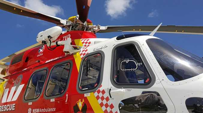 The Westpac Life Saver Rescue Helicopter has been called to a rural incident.