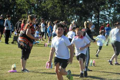 Marluu Rowley goes for a run.