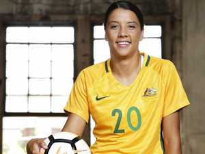 Sam Kerr scoops award for Aussies at ESPYs