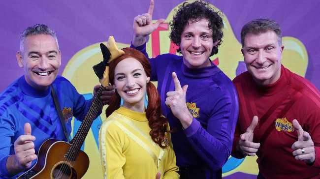 Anthony, Emma, Lachy and Simon from The Wiggles have announced a new tour. Picture: Supplied
