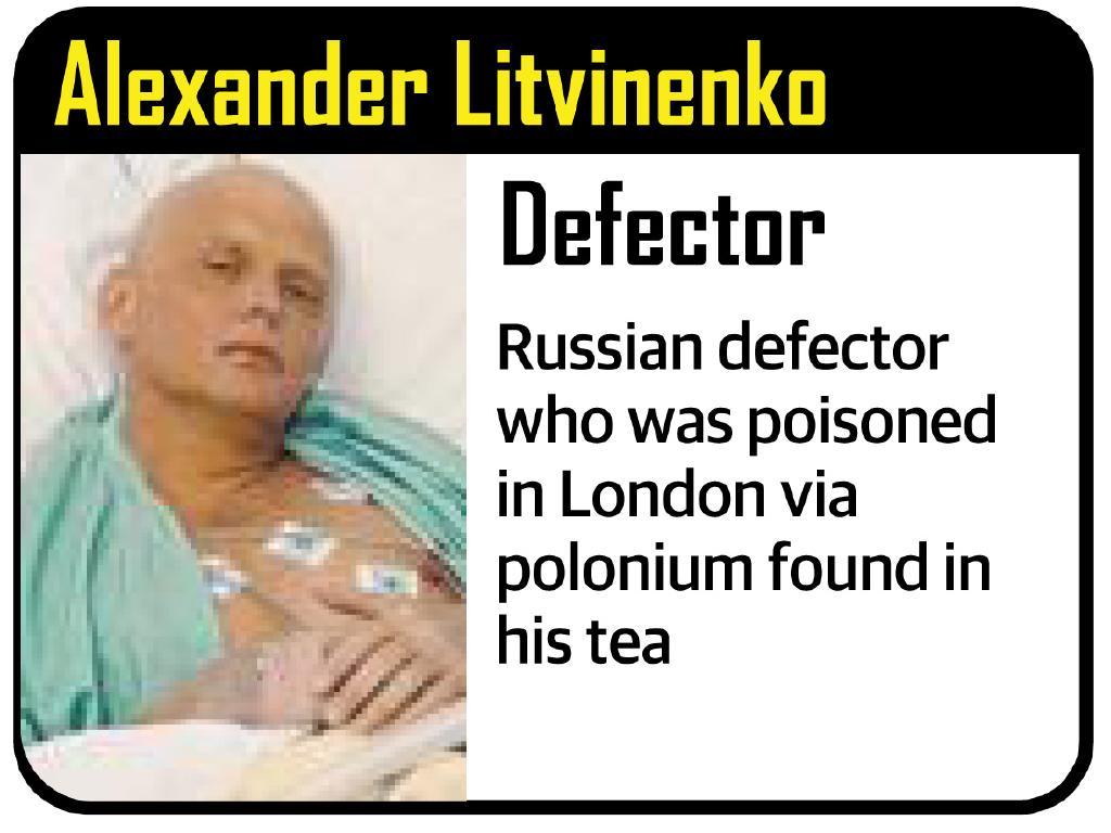 Alleged victims of Vladimir Putin's.