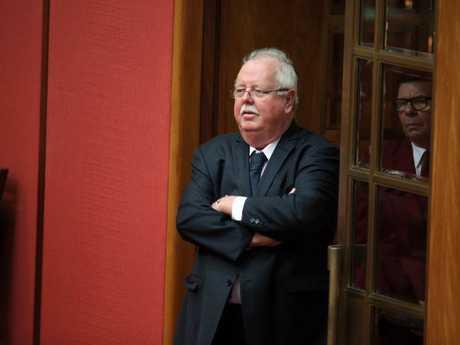 Barry O'Sullivan in the Senate chamber