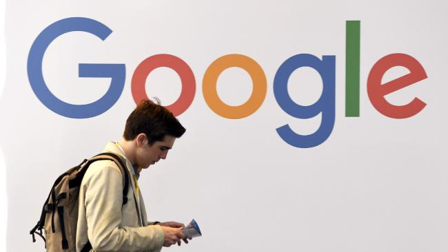 Google has been hit with a massive fine for breaking antitrust laws. Picture: AFP/Alain Jocard