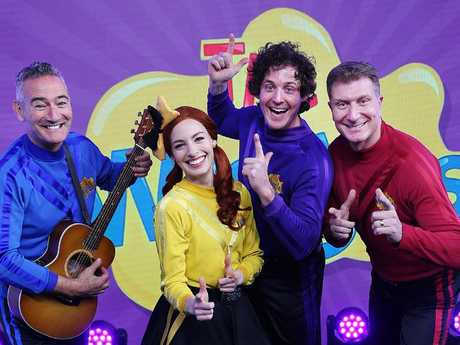 The Wiggles will kick off their upcoming their tour in November. Picture: Supplied