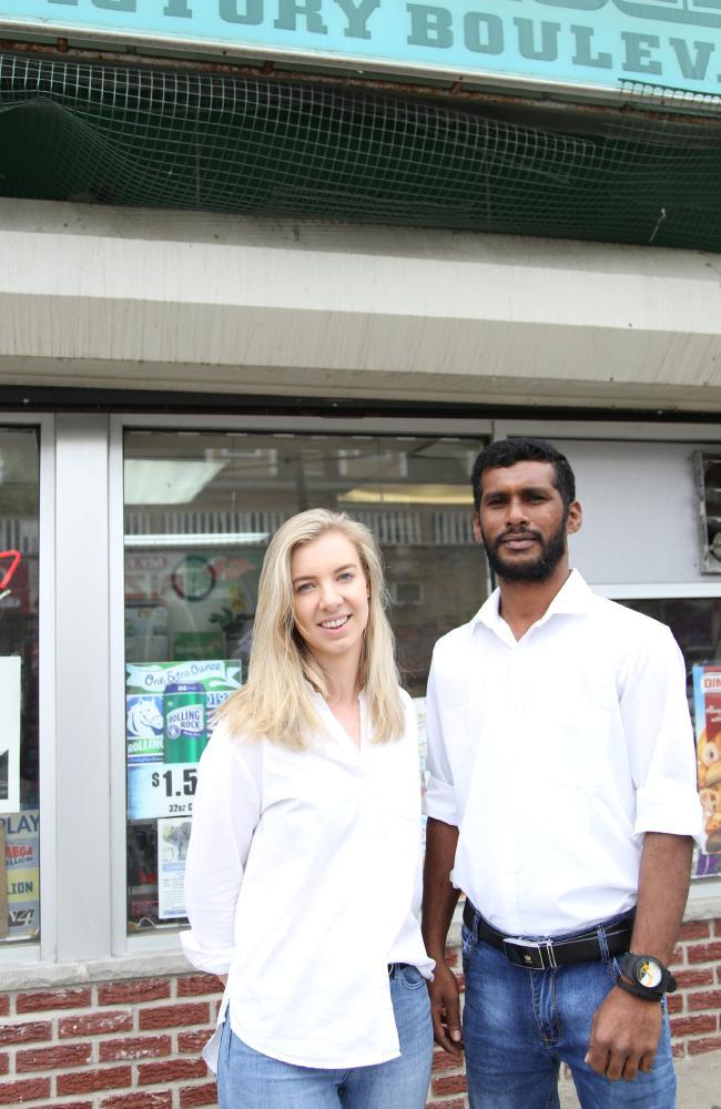 Stephan from Sri Lanka resettled in Elizabeth, New Jersey. Picture: Doerte Fitsc.