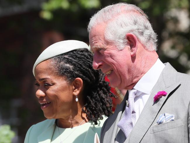 Meghan's mother, Doria Ragland, was the only member of Meghan's side of the family to attend the wedding. Picture: Getty Images