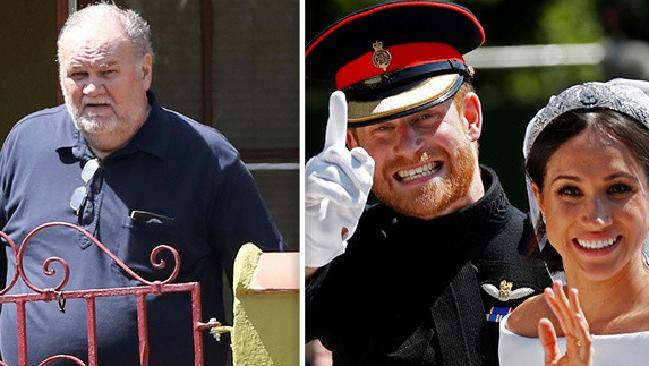 A source claims Thomas Markle faked being sick so he could avoid attending the royal wedding. Picture: Supplied