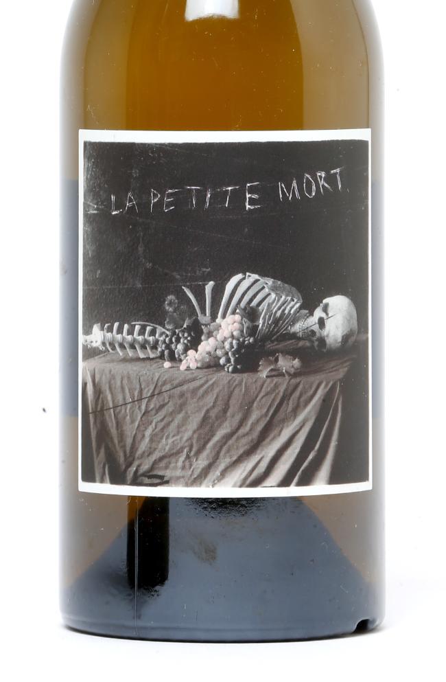 The label on Bent Road's La Petite Mort. Picture: AAP Image/Steve Pohlner