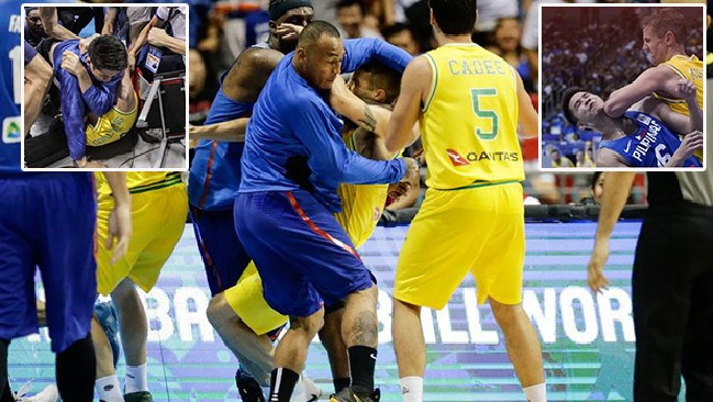 The Boomers and the Philippines must pay a heavy price for their disgraceful brawl.