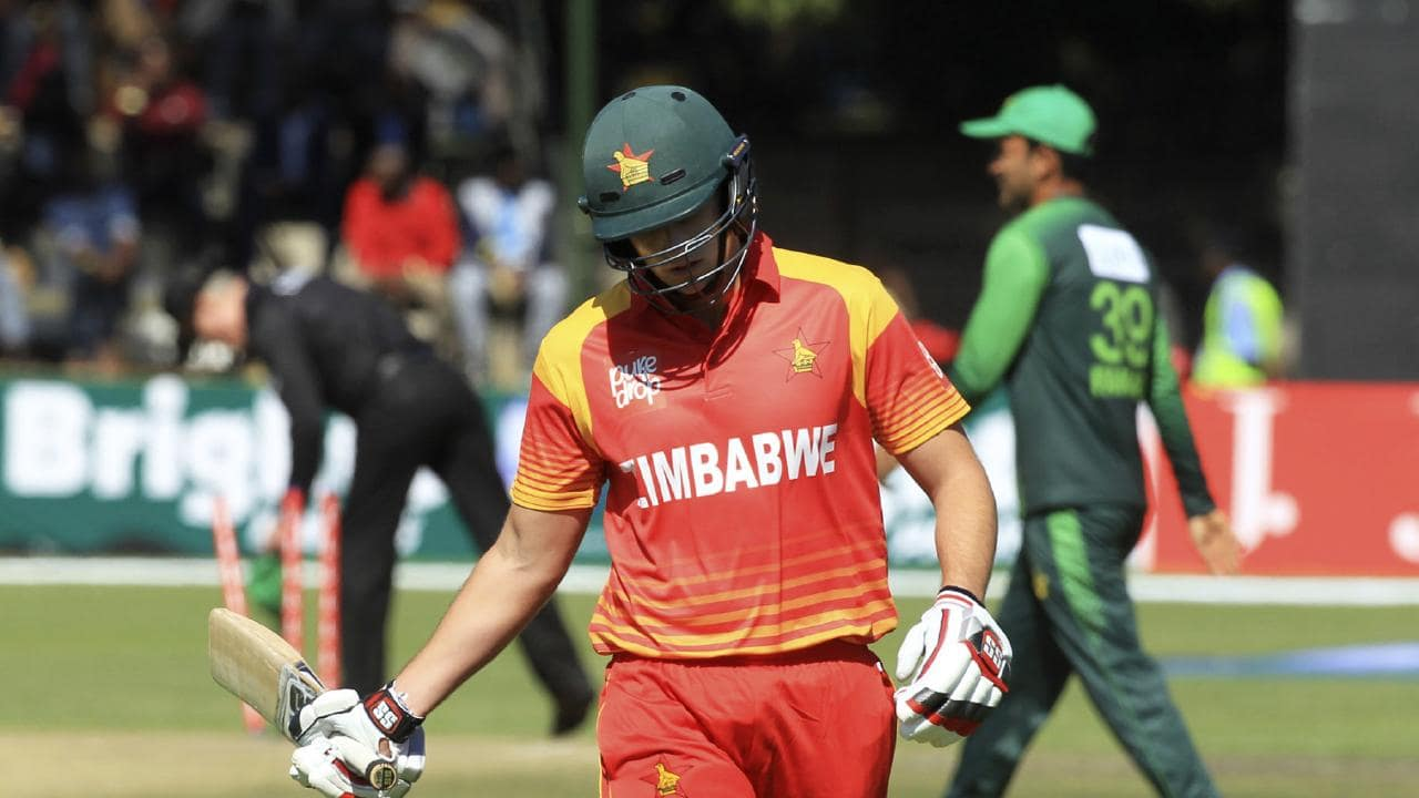 Zimbabwe were skittled for just 67 runs overnight.
