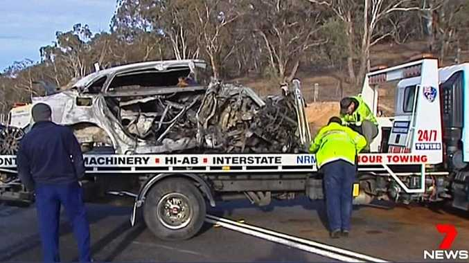 A 11-year-old boy was the sole survivor of the horror crash near Canberra.