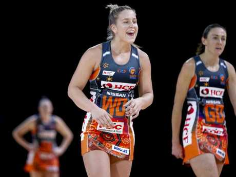 Jamie-Lee Price of the Giants has worked her way into the Diamonds squad one year out from the World Cup. Pic: AAP