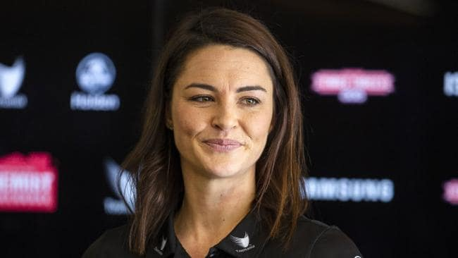 Sharni Layton said she knew her netball career was nearing its end last year when she took a break. Pic: AAP